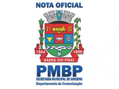 Segunda-feira não haverá expediente nas repartições públicas municipais