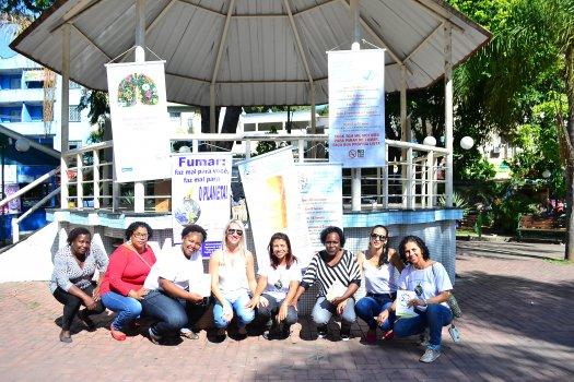 Saúde Coletiva promove ação no Dia Mundial Sem Tabaco