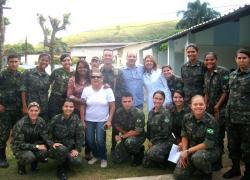 Exército Brasileiro realiza ação cívica e social em São José do Turvo