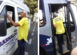 Ordem Pública e DEMUTRAN fiscalizam vans e ônibus em Barra do Piraí