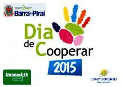 'Dia de Cooperar' em Barra do Piraí no próximo sábado