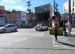 Passagem de nível da Rua Aureliano Garcia será interditada para manutenção na via férrea