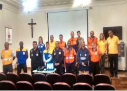 Defesa Civil de Barra do Piraí discute projetos e ações em encontro na cidade de Valença