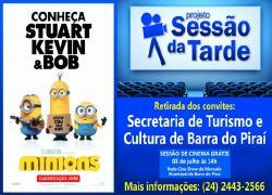 Sessão da Tarde apresenta 'Os Minions'