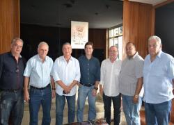 Prefeito e Vereadores recebem dirigentes da BR Metals Fundição Ltda