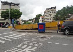 Serviços Públicos aloca contentores de lixo em pontos estratégicos da cidade