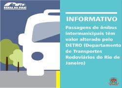 Aumento da passagem para Ipiabas foi autorizado pelo Detro, e não pela prefeitura