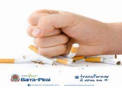Pare de fumar com apoio do Programa de Controle e Tratamento do Tabagismo do Governo Municipal
