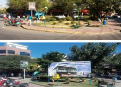 Poluições visual e sonora na 'marca do pênalti' em Barra do Piraí