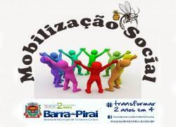 Secretarias Municipais de Educação e de Cidadania e Ordem Pública aderem às mobilizações sociais contra a dengue