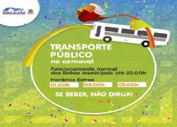 Empresas de ônibus disponibilizam horário especial no Badopi Folia